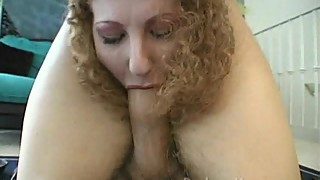 Annie Body Petting Zoo Hairy Redhead with Facial