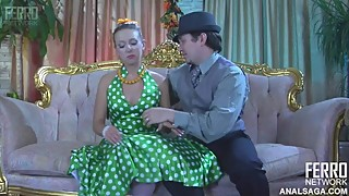 Analsaga Denis - Vintage dress anal