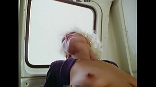 Very Horny Couple Fucking In Van
