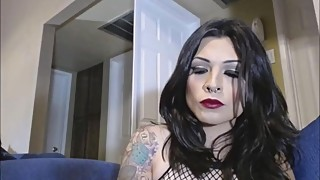Hot Transgender Teasing Her Fans On Her Webcam