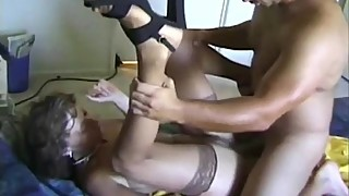 Vintage granny fucked by Marc