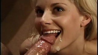 anal threesome for hot pretty blonde