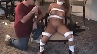 Sweet Vixen Victoria's Mouth Gets Stuffed