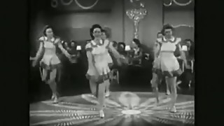 SEXY HOT RETRO BABES DANCE VIONTAGE BALLET