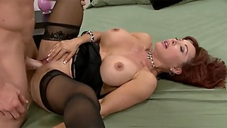 Darkko Classics Big Tit MILF Claudia Gets Casted By Young Stud