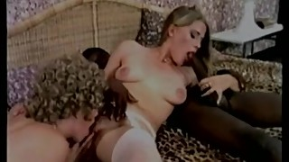 "Vintage Interracial Threesome (PUSSYCAT FILM 470 a€"" MONSTER MEMBER)"