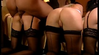 Laura Megan & Sisters Kiss  Room Service