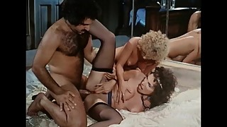 Threesome With Horny Stud
