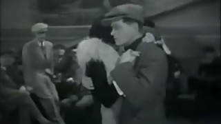 Clip from famkoous 1930 French Film! Of 'couple dancing java in dancehall