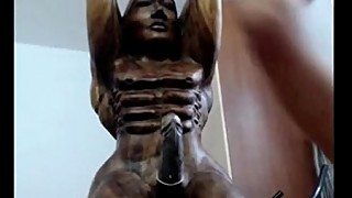 Girl fucking wooden statue hiddencam-retrocams.net