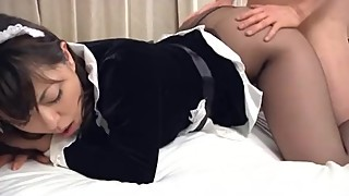 Playful Nipon Maid Does Some Sucky Sucky