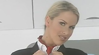 Adele Stephens Striptease Stewardess
