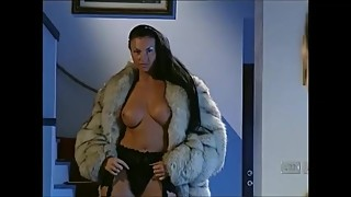 Laura Angel Fox Fur Gangbang