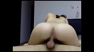 Swedish Teen new in porn does anal creampie