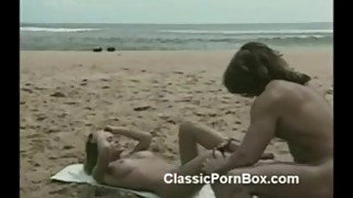 Chasey Lain has sex on the beach