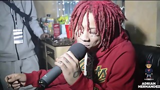 Trippie Redd's most awkward interview of all-time w/Adrian Hernandez