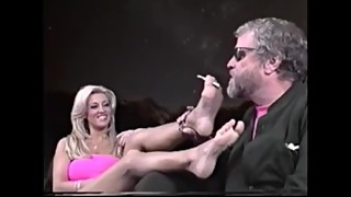 Jill Kelly smoking feet