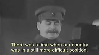 Joseph Stalin Address The Nation of Pornhub