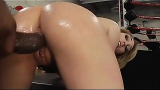 Interracial BBC For Blonde Teen
