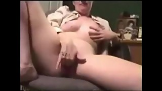 Real Wife Orgasm for Camera Guy