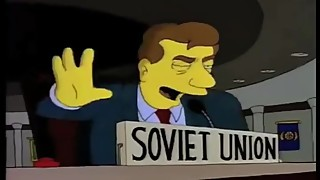 THE SIMPSONS GO COMMUNIST