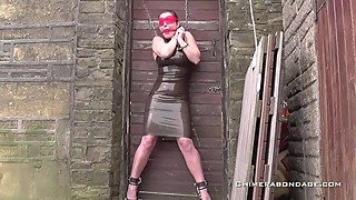 A Classic - Icy Water, Spanking and Latex Bondage