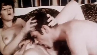 Vintage Sex Fun From The Seventies Shows Off Old School Style