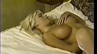 Blonde Bombshell Fucking in the 90's.