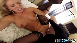 Spizoo - MILF Cherie DeVille fucking a monster cock, big booty &amp_ big boobs