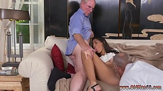 Brianna's old man playing with pussy hot vintage mom young