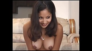 Sexy Latina Rides the Sybian to Multiple Intense Orgasms