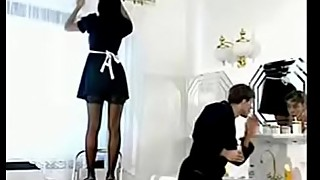 french maid fuck customer