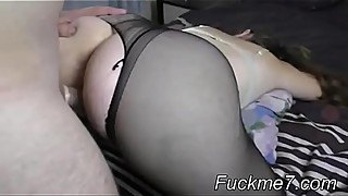 Pregnant mature blonde fucked hard