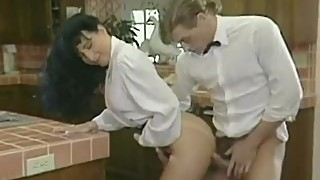 Samurai Retro Sweethearts - Madison Stone - kitchen sex