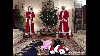 Santa &quot_Gangbang&quot_ Claus with Nathalie