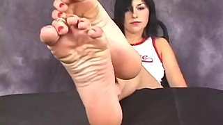 More hot classic foot fetish stuff, beautiful AlexisA? sexy soles closeup