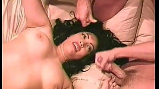 Latin chick double dicked