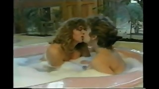 Tracey Adams Shares a Bathtub with a Close Female Friend
