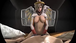 Classic Mercy Cock Riging VR
