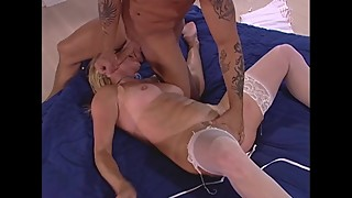 Hot Blonde Fucks Younger Guy