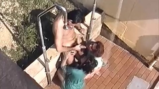 Sluts Fucked by the Pool